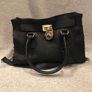 Michael Kors East West Hamilton Satchel